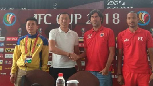 Jumpa Pers Persija Jakarta vs Song Lam Nghe Anh