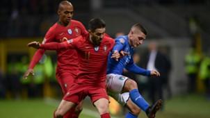 Portugal Italy Silva Verratti