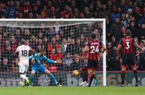 Callum Wilson Bournemouth Manchester United Premier League 03112018