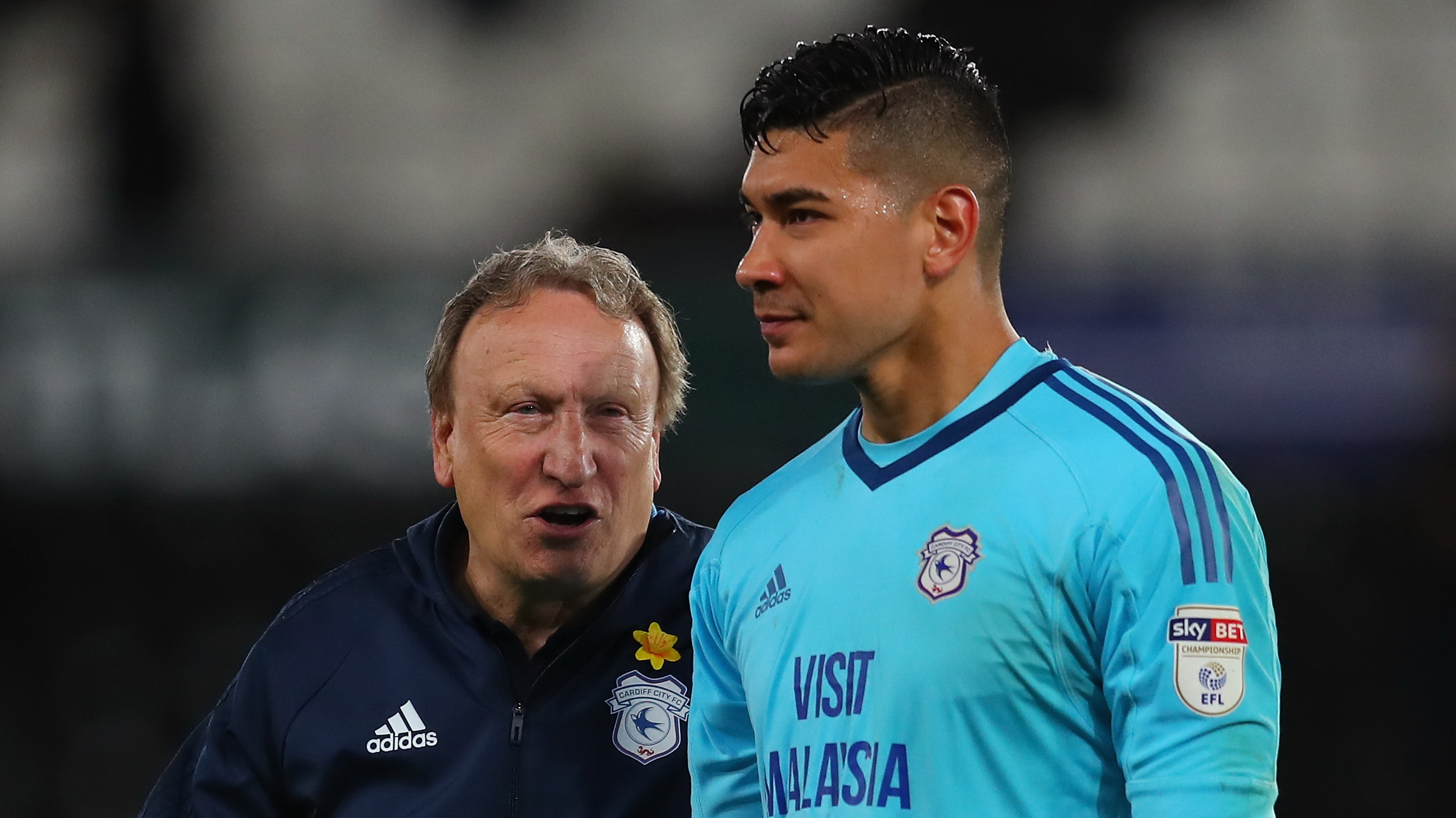 Neil Etheridge Neil Warnock Cardiff City