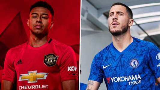 4ce618dc0 New 2019-20 football kits  Manchester United
