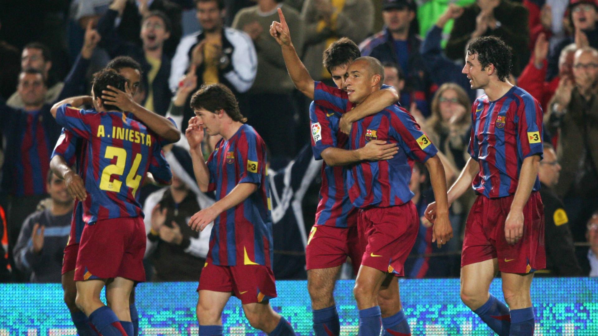 Larsson Messi Barcelona