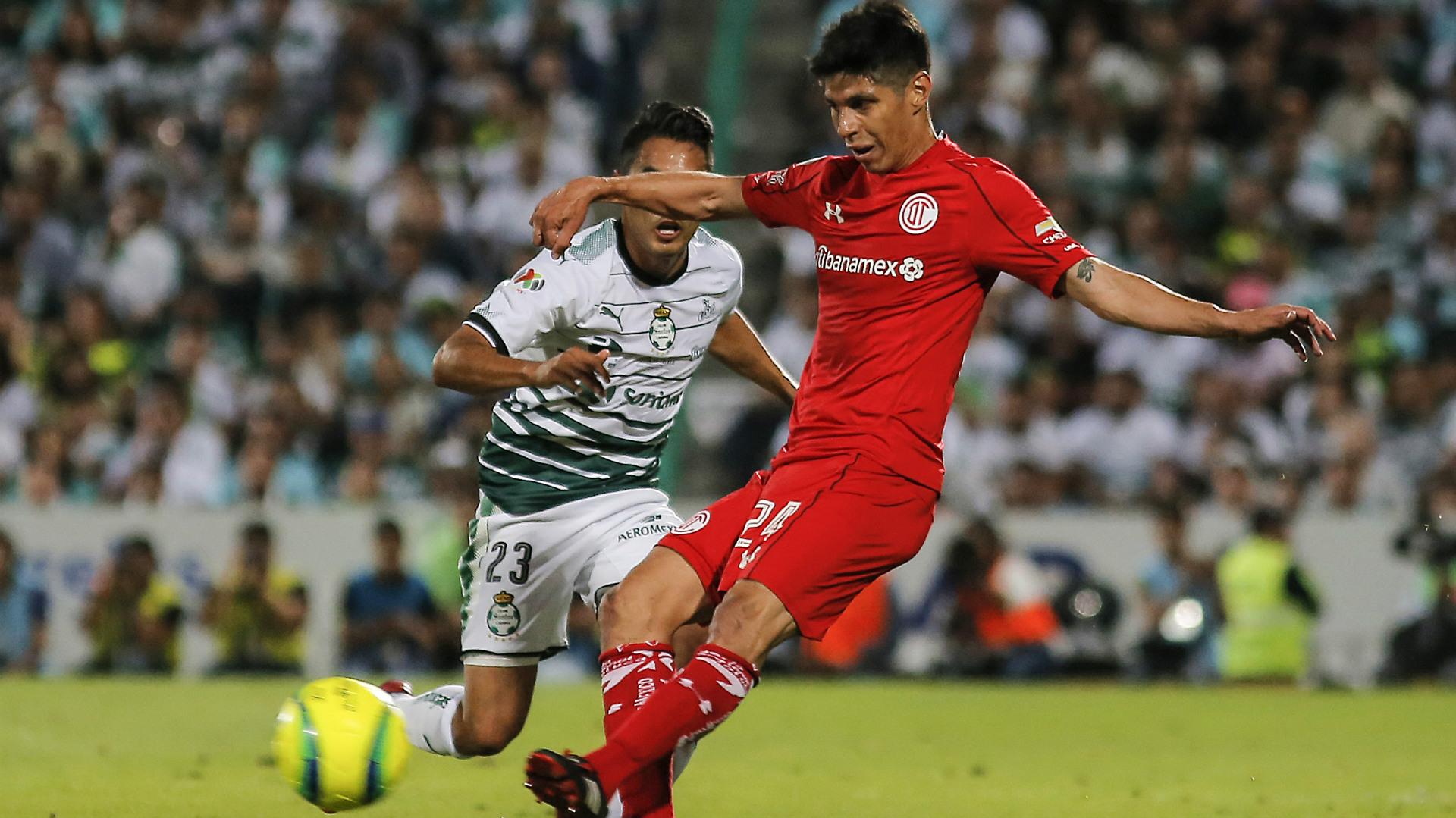 Pablo Barrientos Toluca Jose Juan Gallito Vazquez