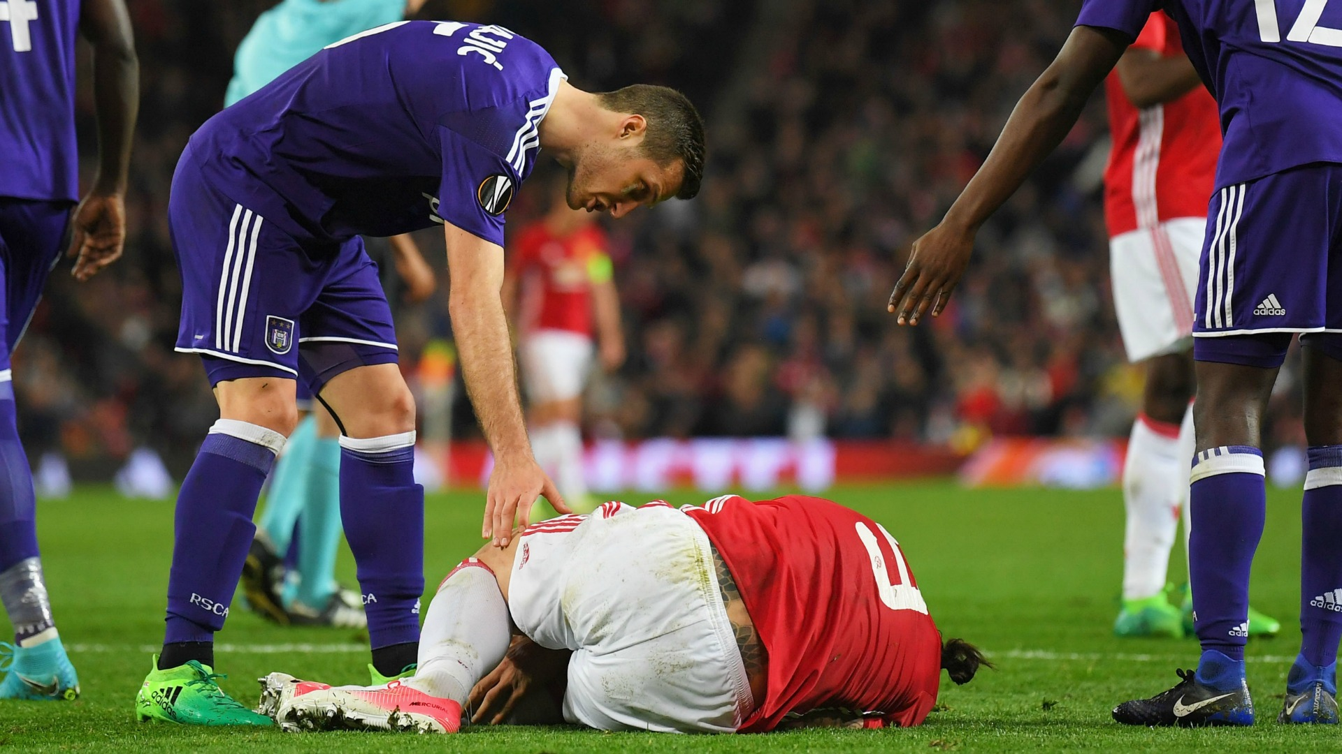 Ibrahimovic Manchester United Anderlecht