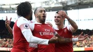 Pierre-Emerick Aubameyang Arsenal Tottenham 021218