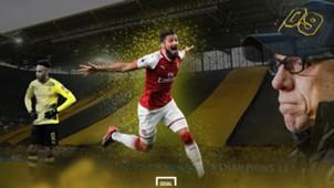 GFX Olivier Giroud Borussia Dortmund