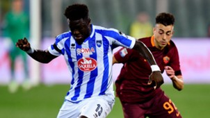 Muntari El Shaarawy Pescara Roma Serie A
