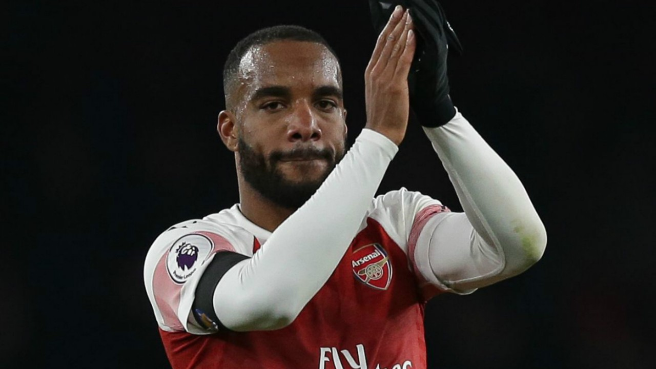 Lacazette over Arsenal frustration and enjoying life at 'great club'