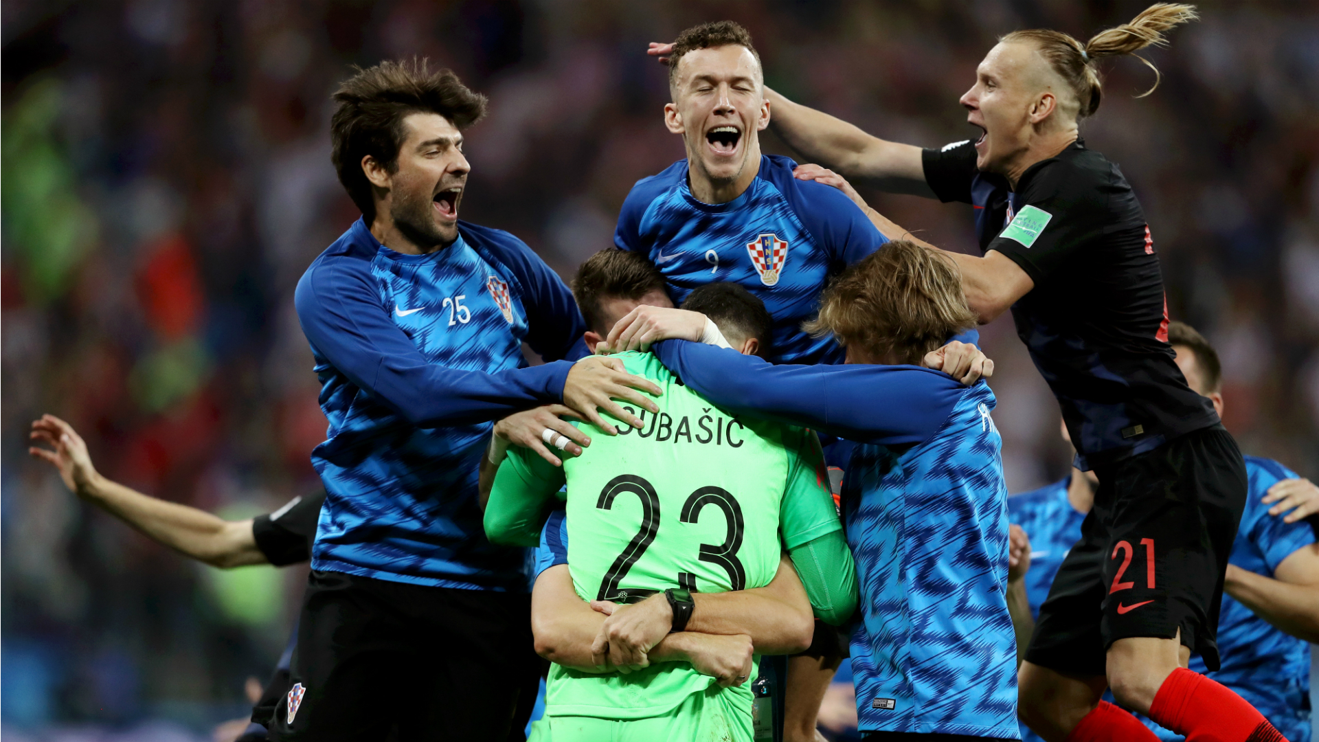 corluka perisic vida subasic croatia World Cup 01072018