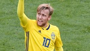 Emil Forsberg Sweden 2018