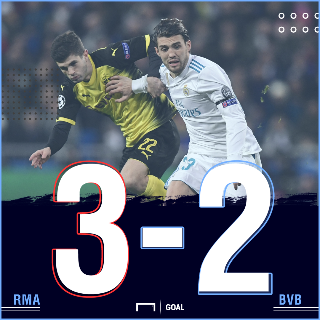 Real Madrid BVB score