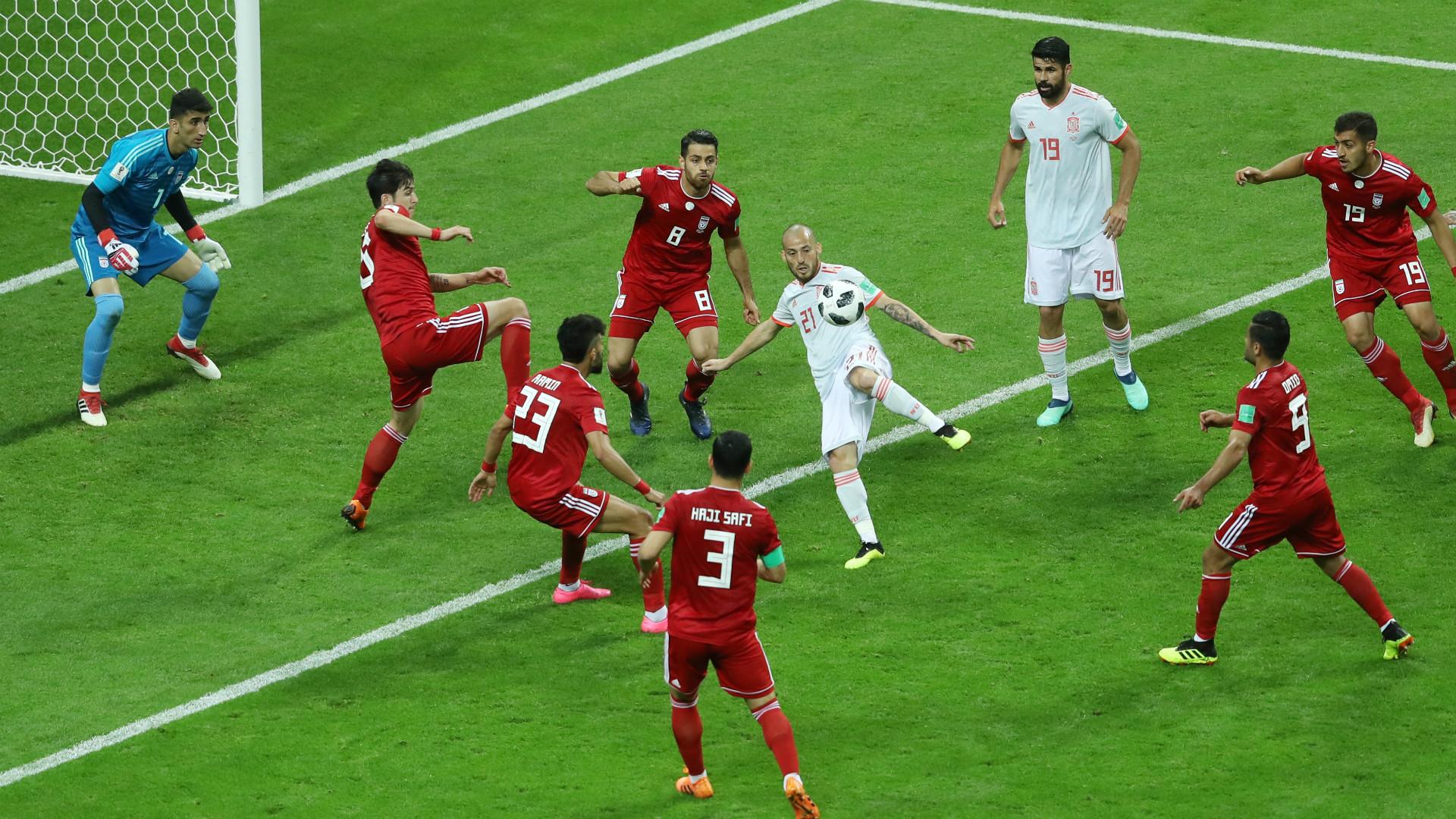 David Silva Iran Spain World Cup 2018