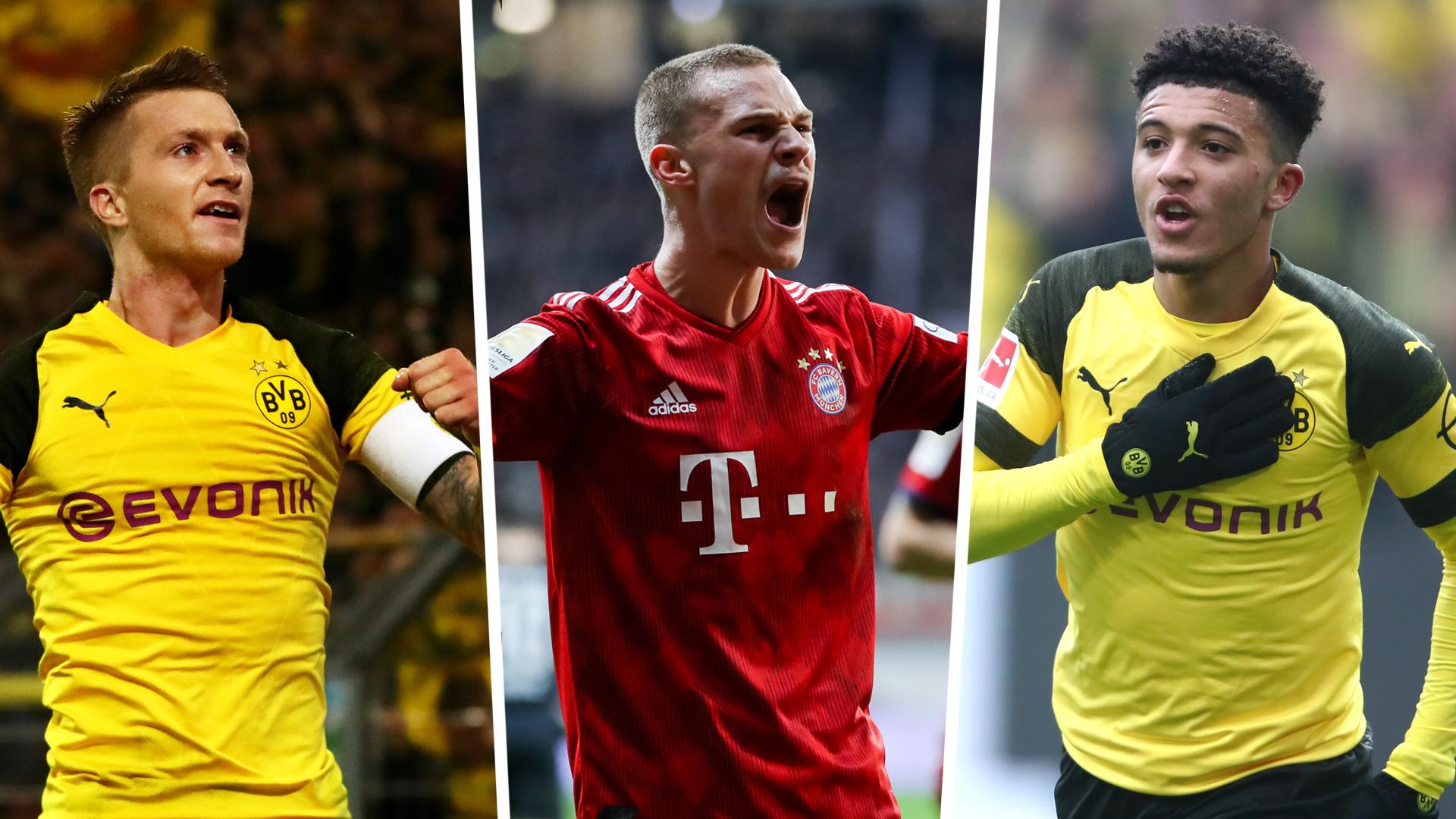 Bundesliga Team of the Season: Reus and Sancho almost end Bayern dominance