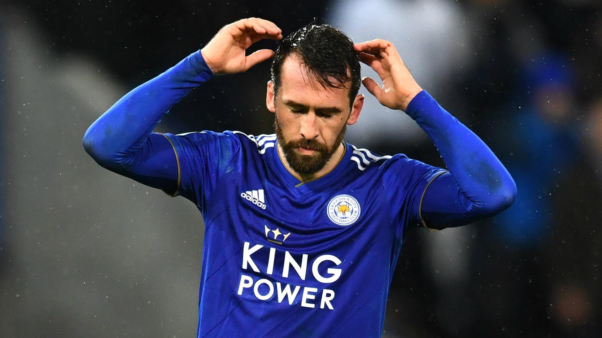 Christian Fuchs Leicester 2018-19