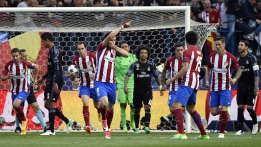 Saul Niguez Atletico Madrid Real Madrid Champions League