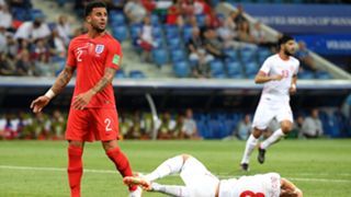 Kyle Walker England Tunisia World Cup 2018