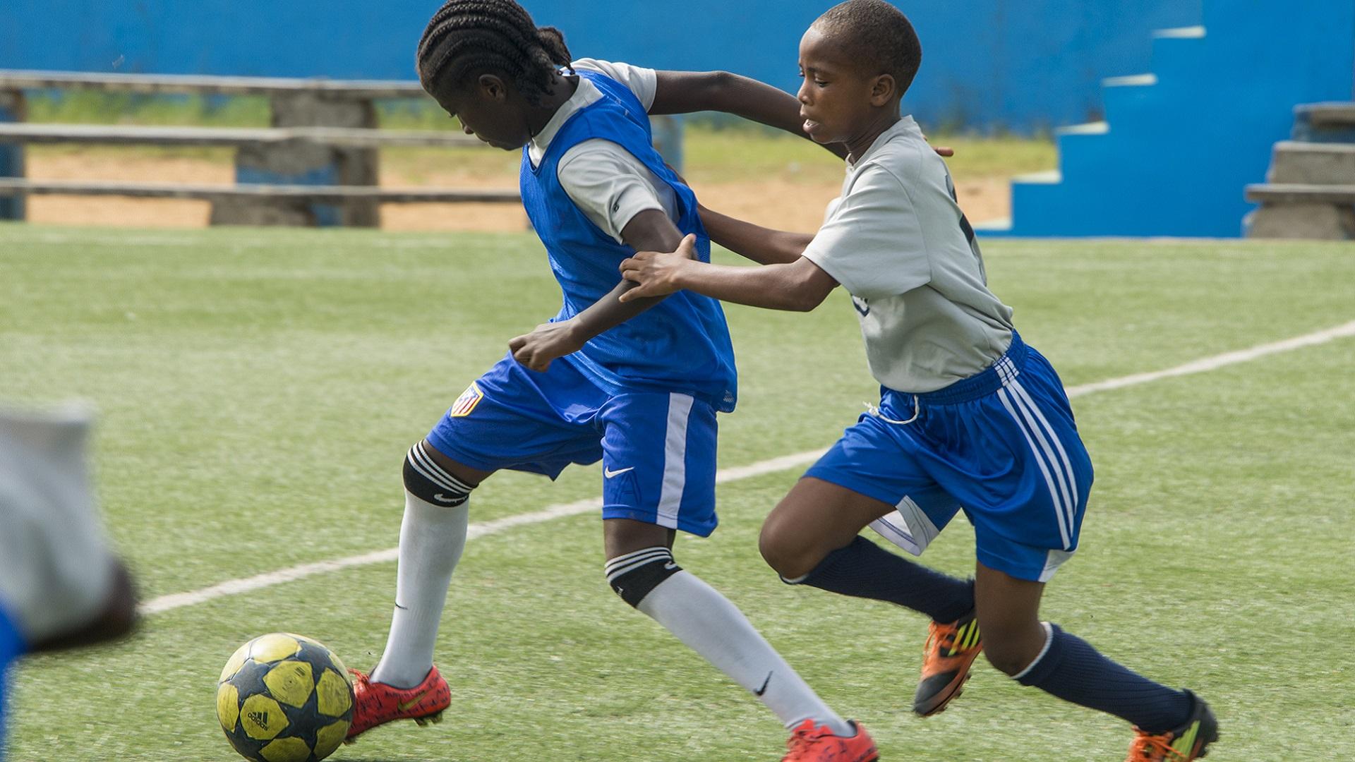 Monrovia football Academy Girls football