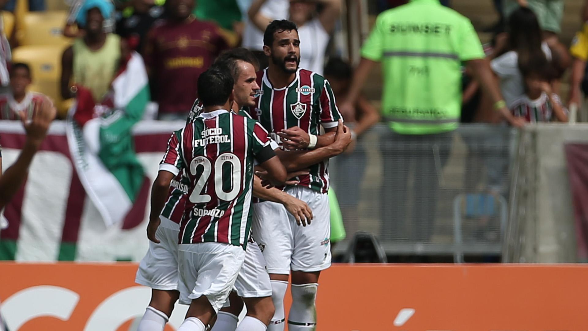 Henrique Dourado Sornoza Lucas Fluminense Santos Brasileirao Serie A 14052017