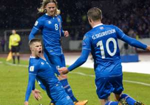 Gylfi Sigurdsson: Iceland's star player probably needs no introduction. Sigurdsson's somewhat dual role of creating and scoring is well documented, and it probably isn't a surprise that he was Our Boys' top scorer in qualifying with four goals. The mid...