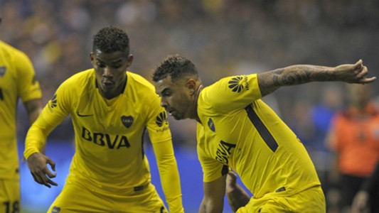 Cardona Barrios Boca Olimpo Superliga Argentina