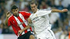 Mascherano Helguera Real Madrid River Amistoso Internacional 2003