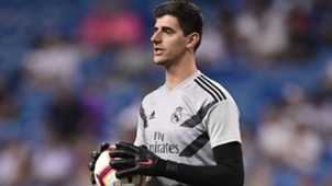 Courtois Real Madrid 24 08 2018