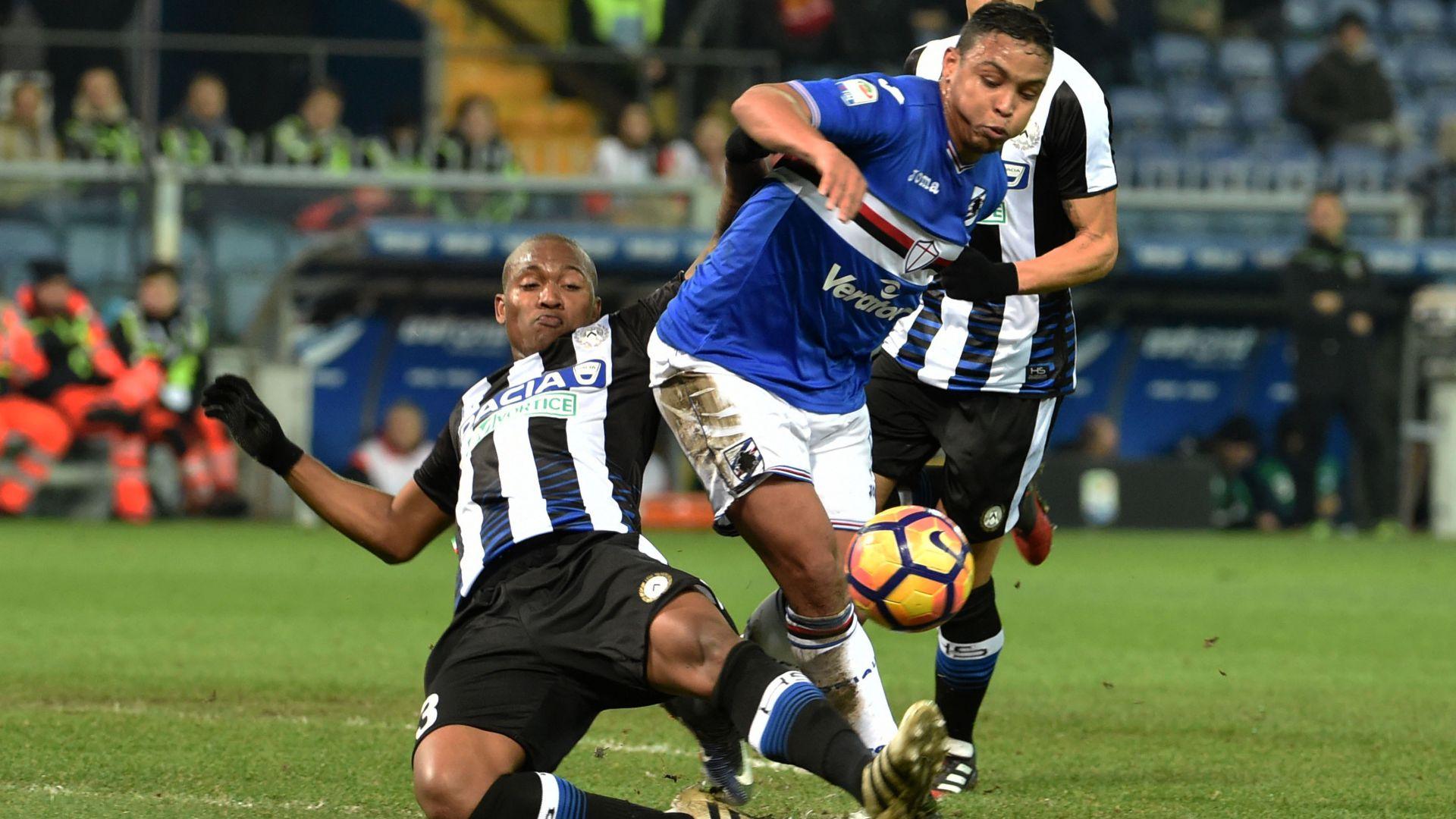Udinese-Sampdoria, le formazioni ufficiali: Muriel titolare, Thereau c'è