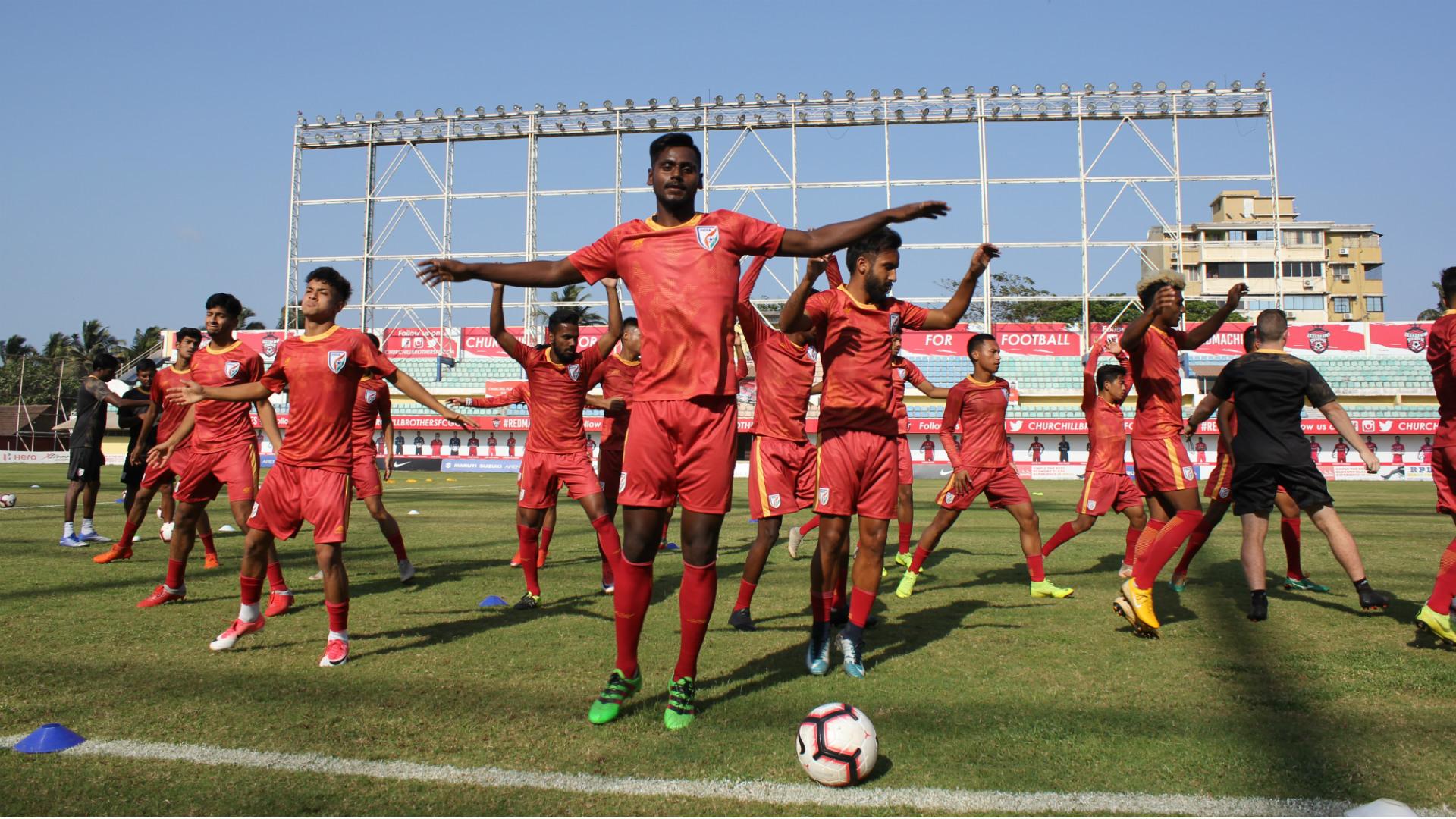India U23 national team training
