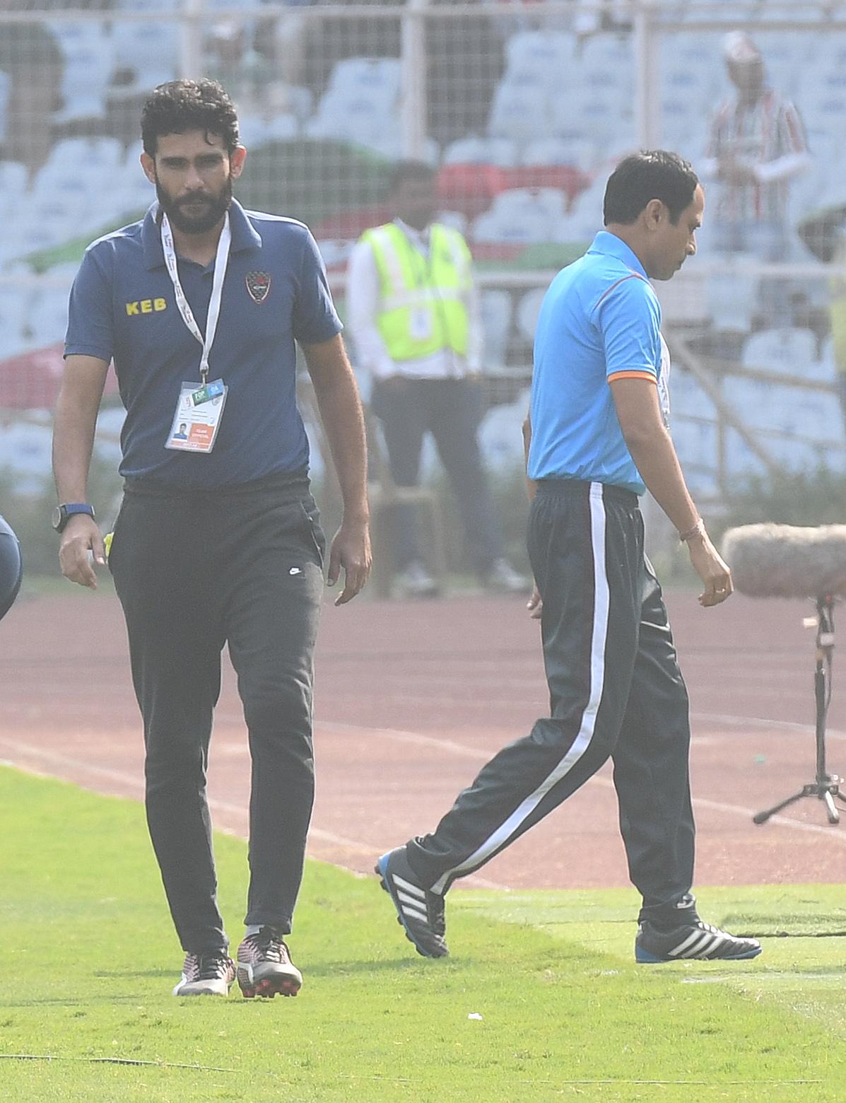 Khalid Jamil Sankar Lal Chakraborty East Bengal Mohun Bagan 2017-18 I-League Kolkata Derby