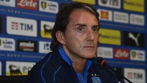 Mancini Italy press conference