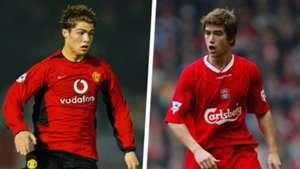 Cristiano Ronaldo Harry Kewell 2003 Split
