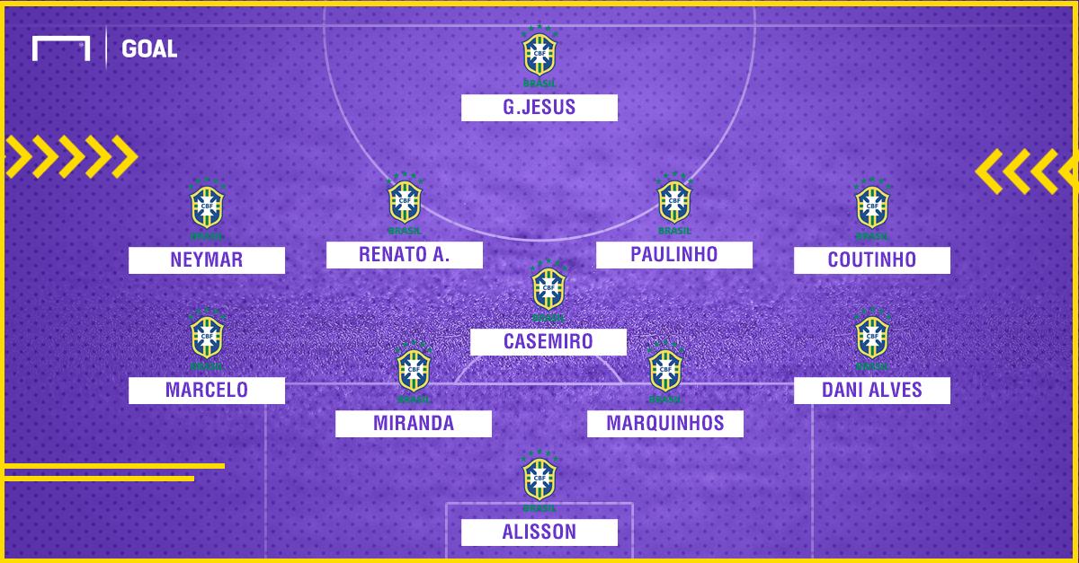 GFX Brasil vs Inglaterra