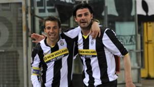 Vincenzo Iaquinta Alessandro Del Piero Juventus Serie A