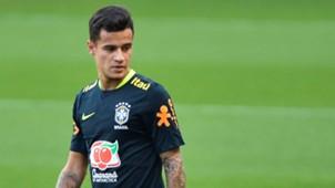 Philippe Coutinho Brasil treino 29082017
