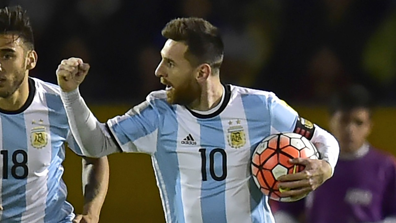 Image result for Lionel messi argentina 3-1