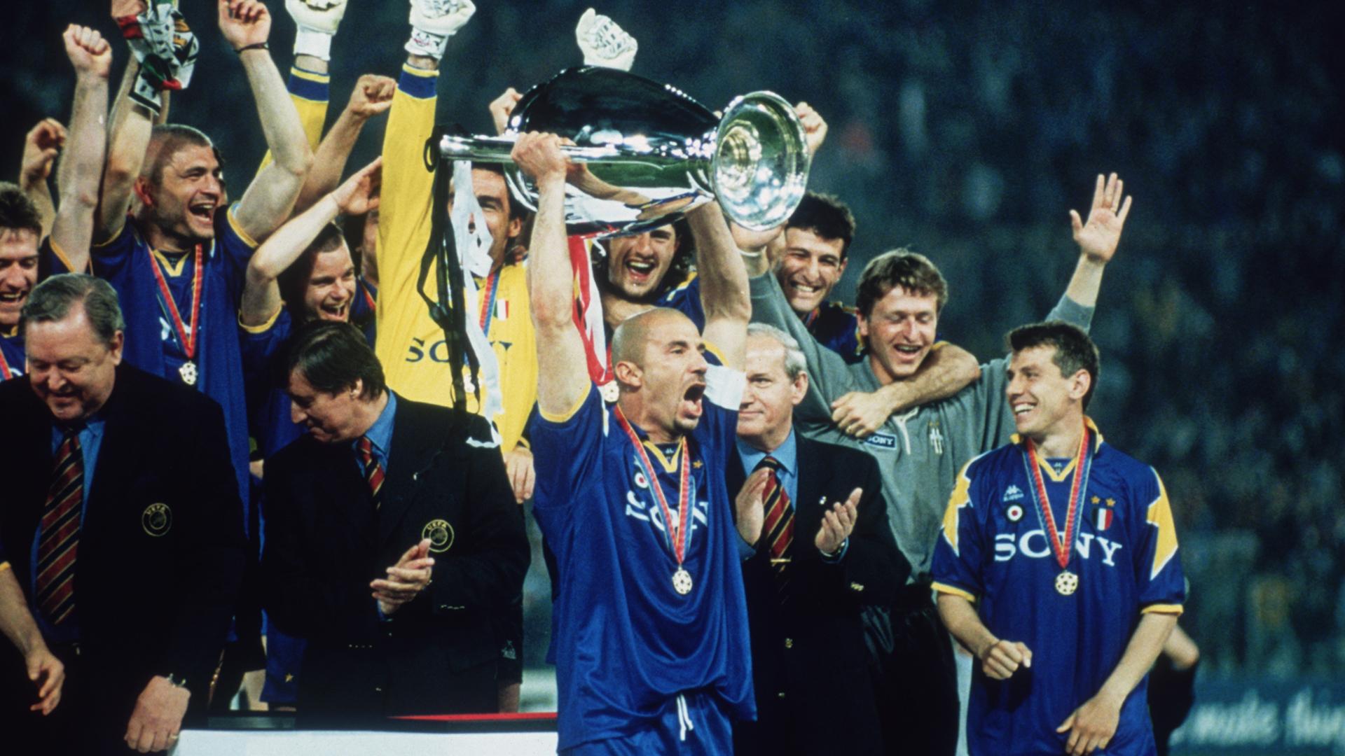 Gianluca Villa Juventus Champions League 1996