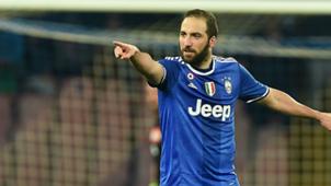 Gonzalo Higuain Napoli Juventus
