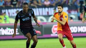 Hugo Rodallega Emre Akbaba Trabzonspor Galatasaray 912018