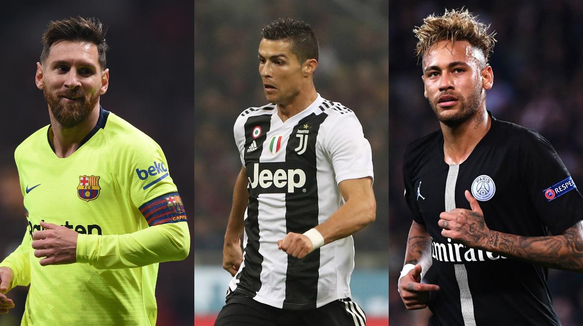 GFX Messi Ronaldo Neymar