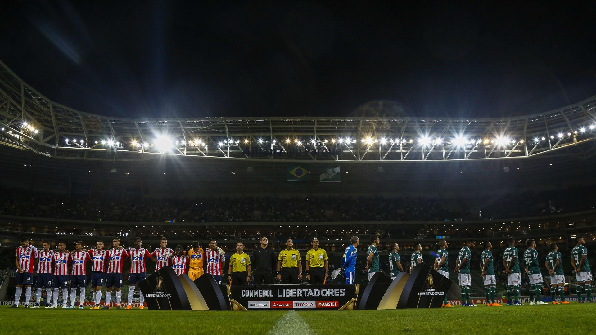 Allianz Parque Palmeiras Junior Barranquilla Copa Libertadores 16052018