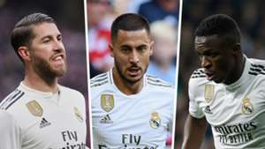 How Real Madrid will line up in 2019-20
