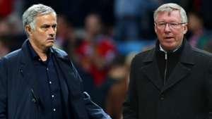 Jose Mourinho Sir Alex Ferguson Man Utd