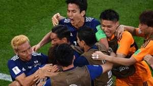 Japan celebrations goal Senegal World Cup 2018 240618