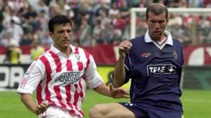 Tomas Zinedine Zidane Vicenza Juventus Serie A 06102001