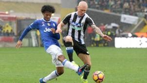 Juventus Turin Udinese Calcio Cuadrado Hallfredsson 20102017