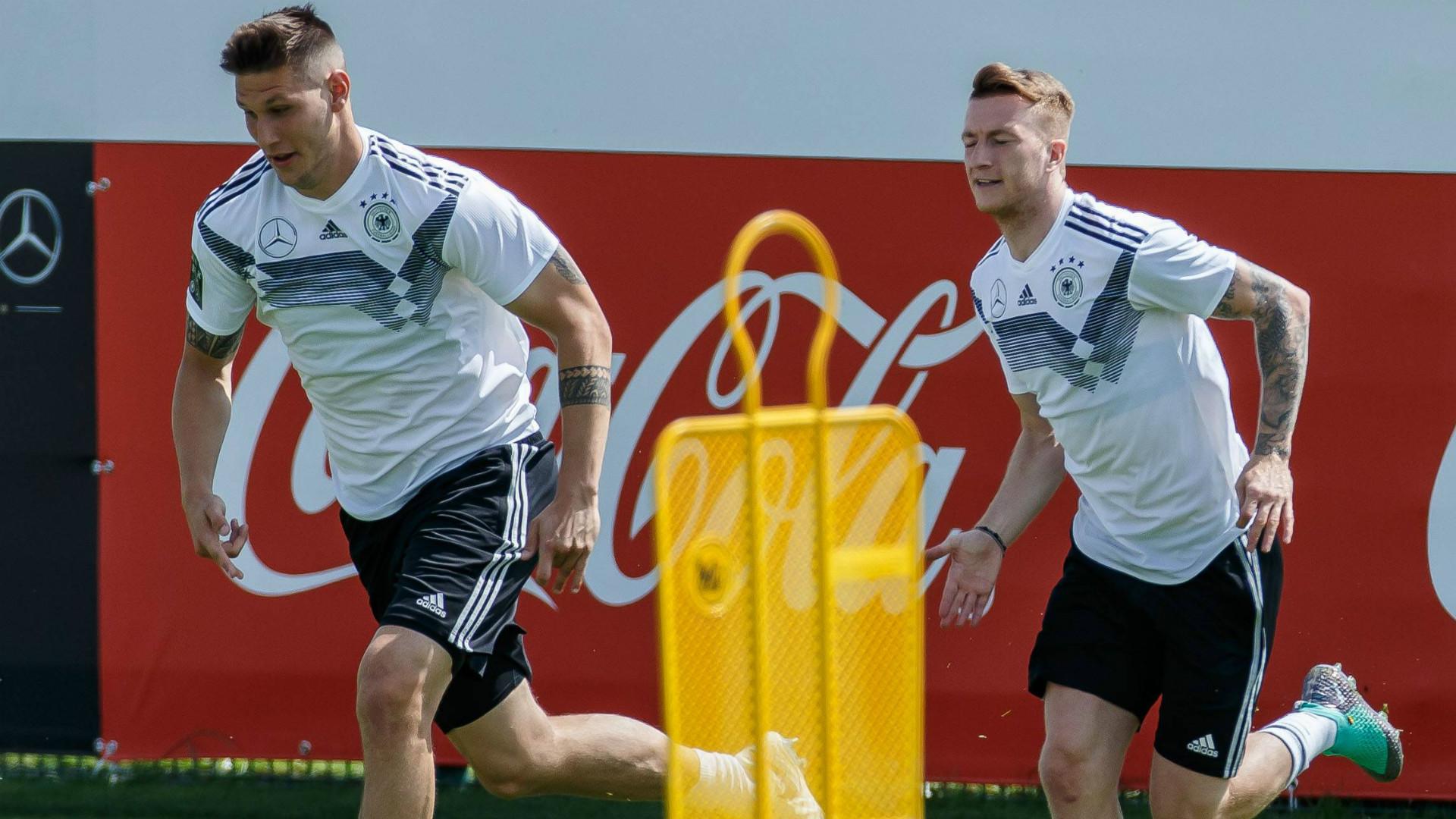 ONLY GERMANY Niklas Sule Marco Reus Germany 2018