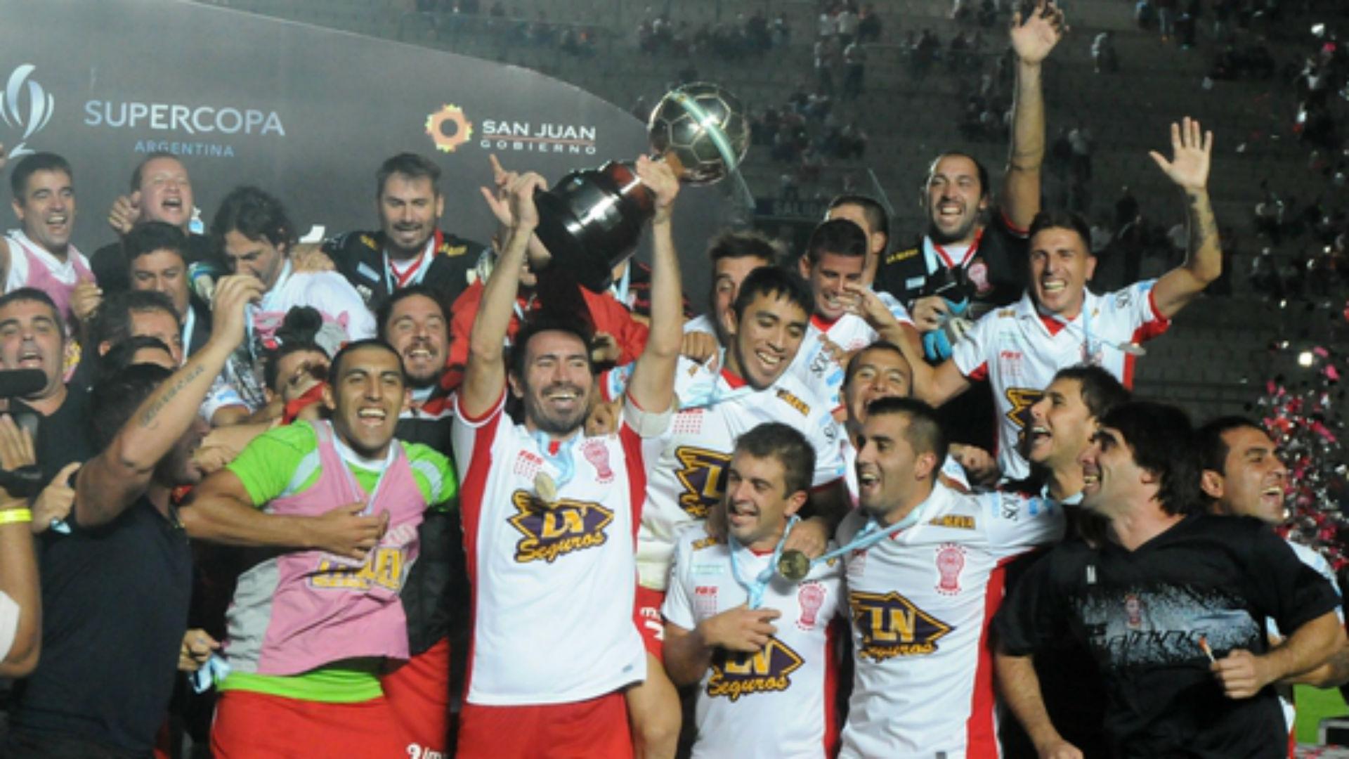 Huracan Supercopa Argentina 2014