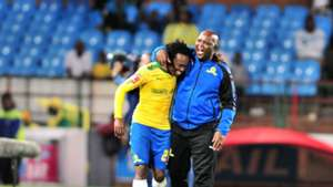 Percy Tau & Pitso Mosimane, Mamelodi Sundowns