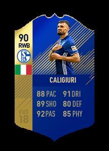 FIFA 18 Bundesliga Team of the Season Daniel Caligiuri