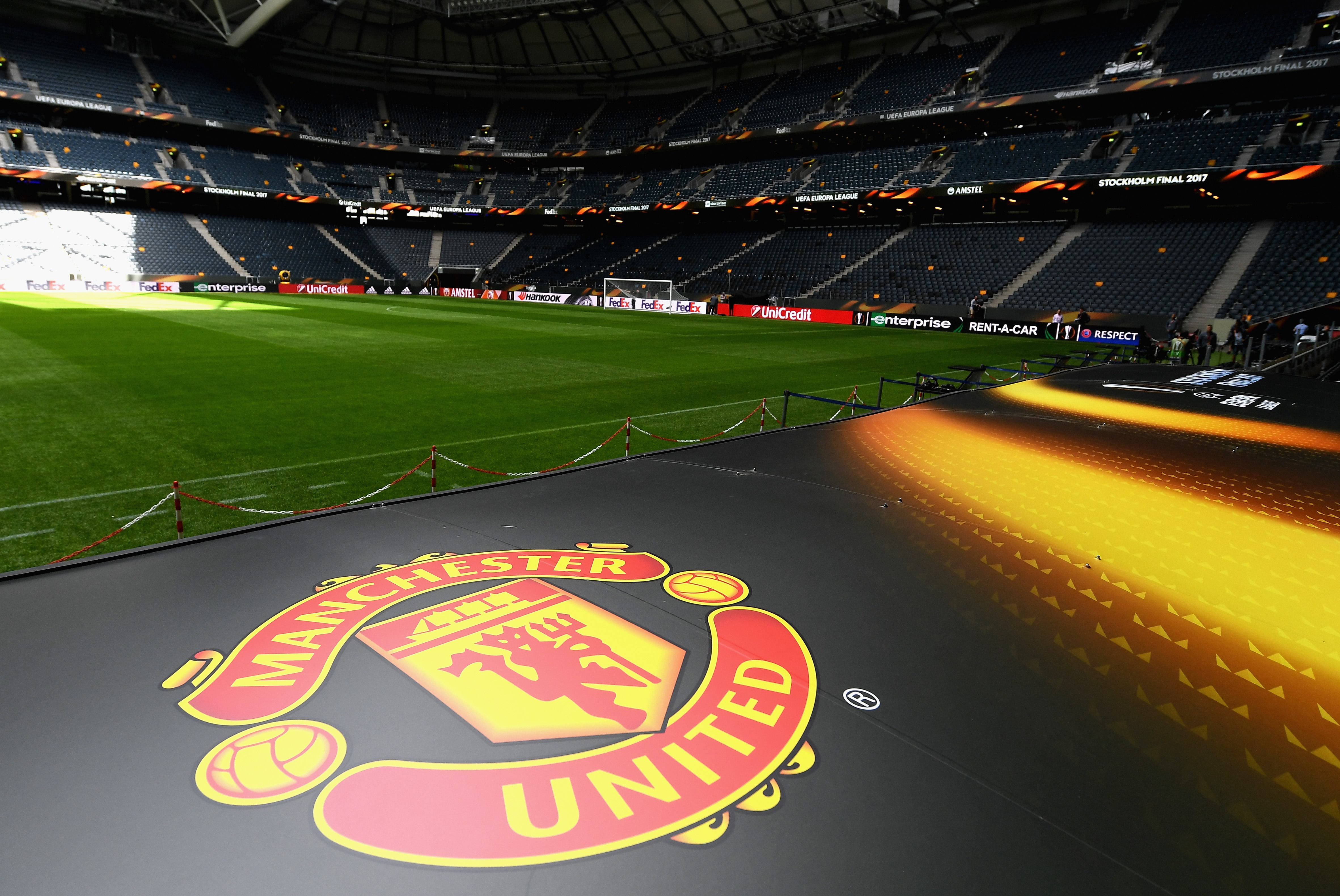Friends Arena Europa League final Manchester United